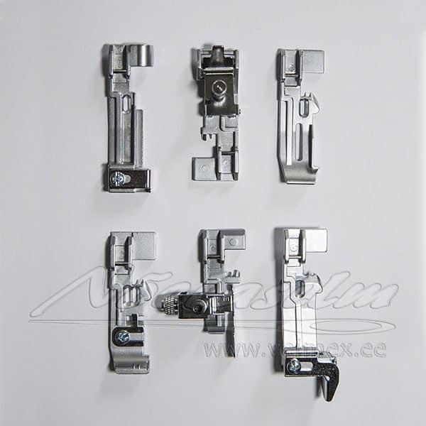 Presstallad 6-komplekt / overlokkidele Juki MO 50e/50eN