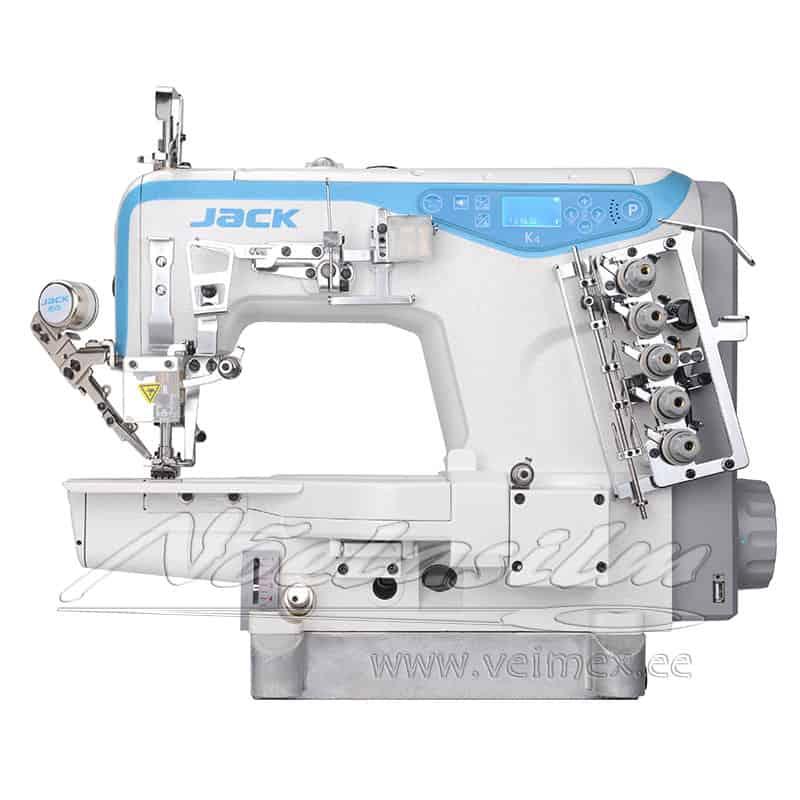 Jack K4-UT tööstuslik vabavarrega elektrooniline topeltkattemasin