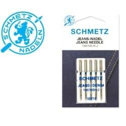Õmblusmasina-Nõelad-Schmetz-130-705-H-J-Jeans-5x100