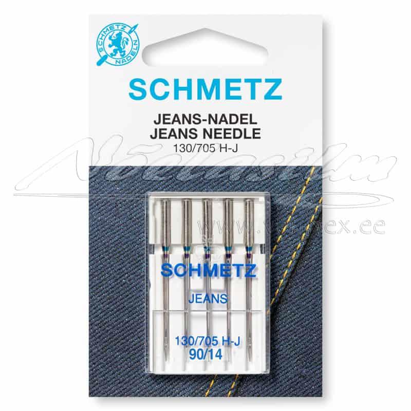Õmblusmasina-Nõelad-Schmetz-130-705-H-J-Jeans-5x90