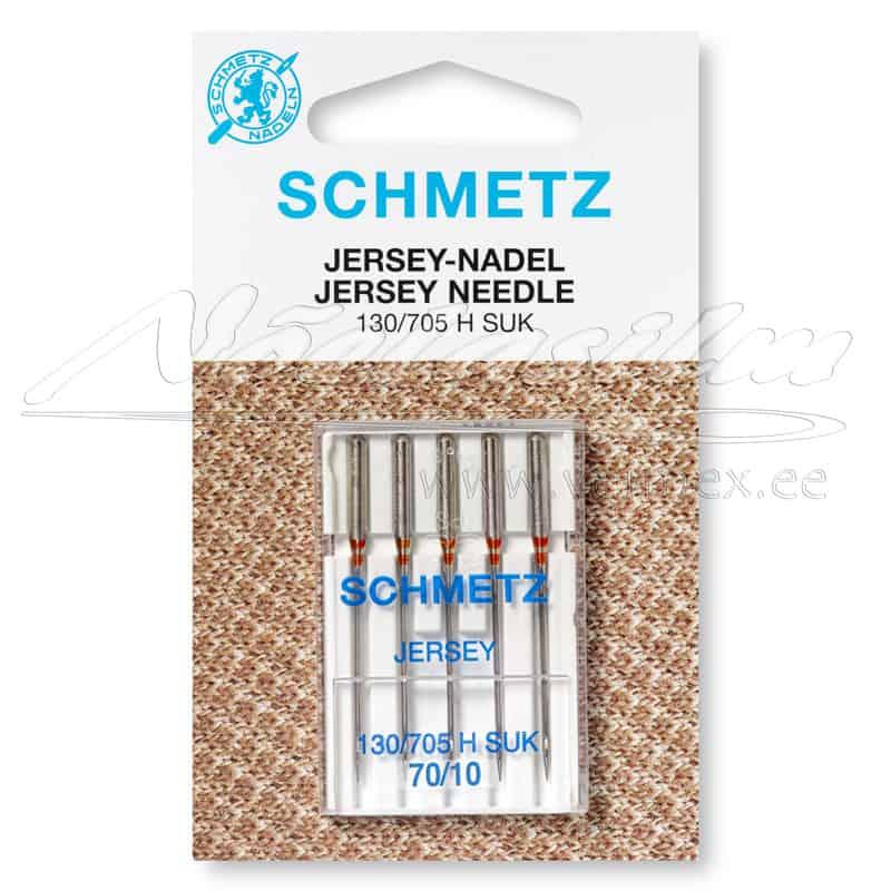 Õmblusmasina-Nõelad-Schmetz-130-705-H-S-Jersey-SUK-70-10