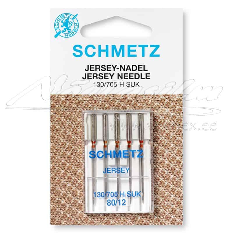Õmblusmasina-Nõelad-Schmetz-130-705-H-S-Jersey-SUK-80-12