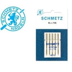 Overlok õmblusmasina Nõelad-Schmetz-ELx705-5x80
