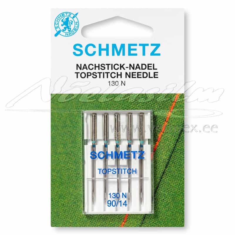 Õmblusmasina Nõelad Schmetz 130 N Topstitch 5x90/14